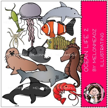 Ocean Life 2 by Melonheadz COMBO PACK