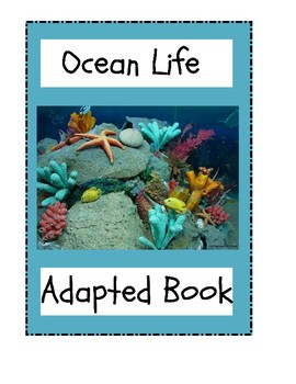 Ocean Life Adapted Book