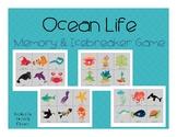 Ocean Life Memory and Icebreaker Game