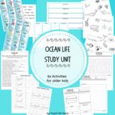 Ocean Life Study Unit