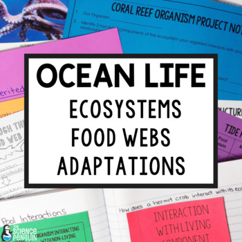Ocean Life Supplemental Activities for Life Science