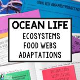 Ocean Life Supplemental Activities for Life Science