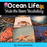 Ocean Life Write the Room Vocabulary
