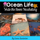 Ocean Life Write the Room Vocabulary
