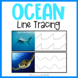 Ocean Line Tracing | Handwriting Practice | Pre-Writing