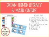 Ocean Literacy & Math Packet - Kindergarten