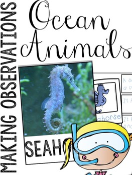 Ocean: Making Observations Picture Cards & Station