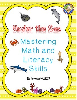 Ocean Math and Literacy Packet