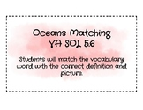 Oceans Vocabulary Matching Sort - VA SOL 5.6 and 4.7