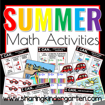Summer Math Activities