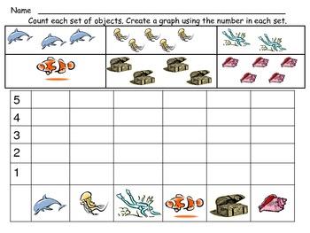 Ocean Math Activities For Kindergarten By Melissa Williams Tpt