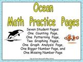 Ocean Math Activities for Kindergarten