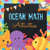 Ocean Math Activities for Pre-K and Kindergarten