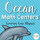 Ocean Math Centers {Common Core Aligned}