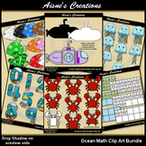 Ocean Math Clip Art Bundle