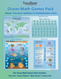 Ocean Math Games Pack (Addition and Multiplication)