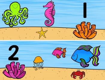 Ocean Math Mats