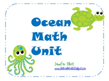 Ocean Math Stations Unit