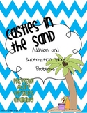 Castles in the Sand: Math Word Problems FREEBIE