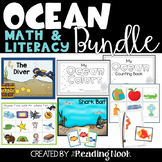 Ocean Math and Literacy Bundle