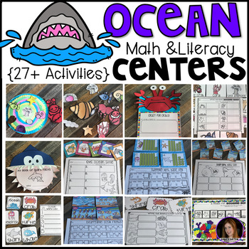 Ocean Math and Literacy Centers {CCSS}