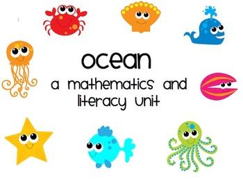 Ocean: Math and Literacy Unit