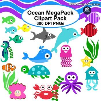 Ocean Megapack Clipart