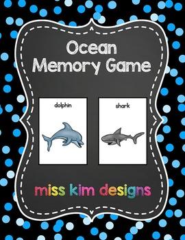 Ocean Memory Game