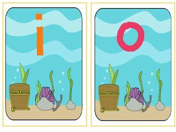 Ocean Middle Vowel Sort (common core aligned)