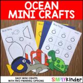 Ocean Mini Crafts