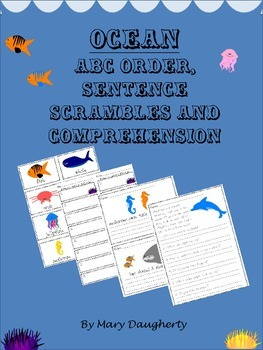 Ocean - Mini Literacy Unit