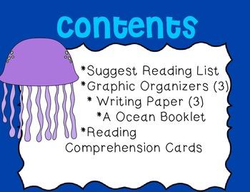 Ocean Mini Unit~ Includes Graphic Organizers & Much More!