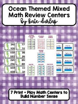 Ocean Mixed Math Review Centers