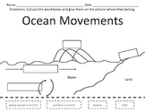 Ocean Movements Cut and Paste