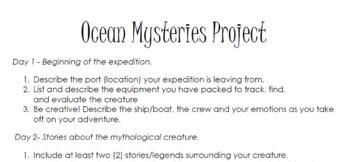 Ocean Mysteries Project