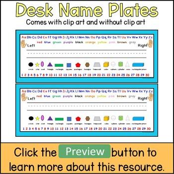 Desk Name Plates With an Ocean Theme