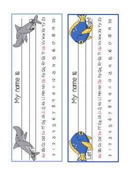 Ocean Name Tags