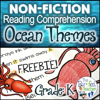Ocean Non-Fiction Reading Comprehension Passages SAMPLE
