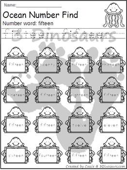 Ocean Number Find
