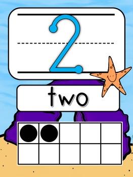 Ocean Number Line 1-20