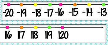 Ocean Number Line {Bright Version}