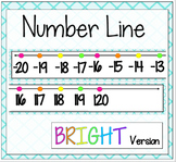 Number Line {Bright Version}