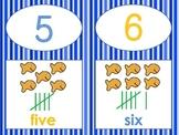 Ocean Number Lines 1-10