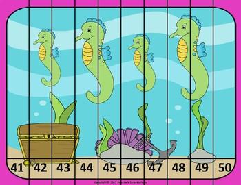 Ocean Number Puzzles
