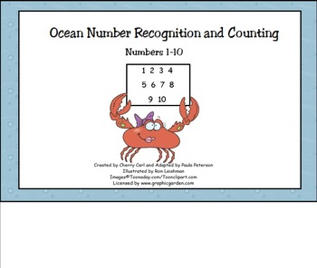 Ocean Number Recognition and Counting for Smart Board