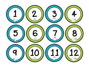 Ocean Numbers FREEBIE