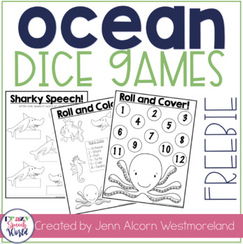 Ocean Open Ended Activities {Freebie}