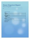 Ocean Organism Report