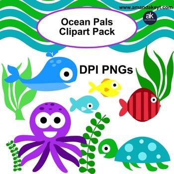 Ocean Pals Clipart