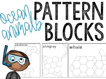 Ocean Pattern Blocks Puzzles